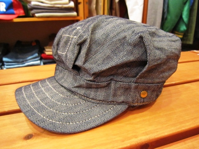 "ANACHRONORM ""Shambray Shirts & Work Cap\"" 入荷!_f0191324_1193270.jpg"