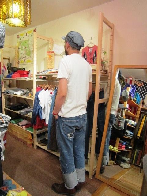 "ANACHRONORM \""Shambray Shirts & Work Cap\"" 入荷!_f0191324_1195940.jpg"