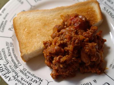 【豆レシピ】 うずら豆のチリビーンズ_f0214716_9194424.jpg