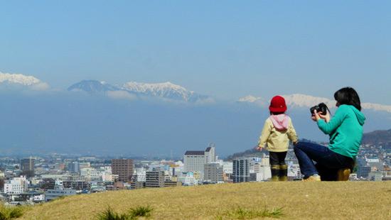 弘法山古墳の桜(松本市)_d0066822_1692916.jpg