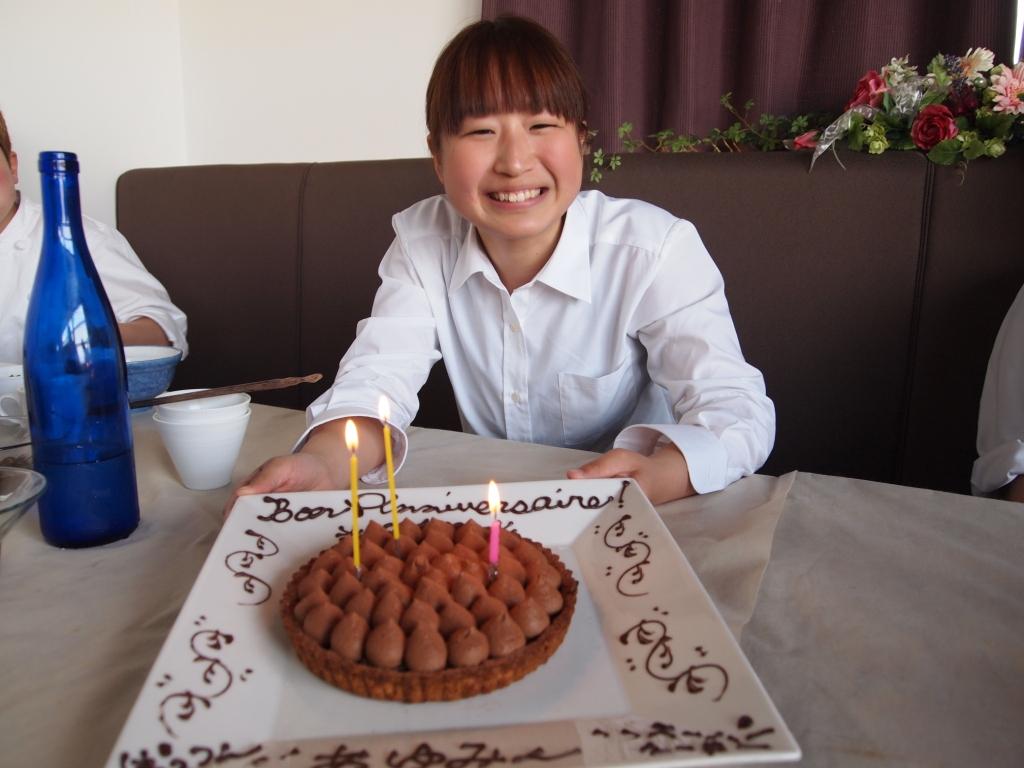 Bon Anniversaire♪「あゆみちゃん☆」_b0077531_23585278.jpg