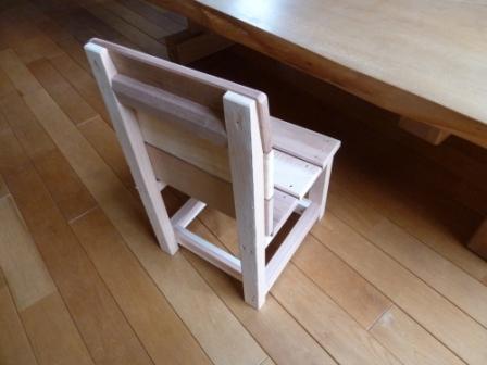 「小さないす」作りました。_c0152341_1656583.jpg