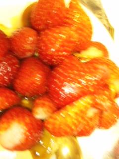 イチゴでプリンが見えない_e0114246_4213937.jpg