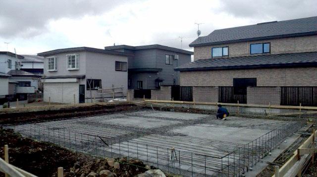 K様邸「船場町の家」 基礎工事_f0150893_18352862.jpg