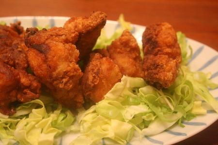 鶏の竜田揚げ 豆板醤風味_f0141419_5541566.jpg