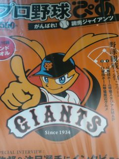 関西人で、巨人ネタってのもなんだが_f0124083_12405287.jpg