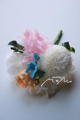 花冠~淡いグリーンのドレスに~_a0136507_2040249.jpg