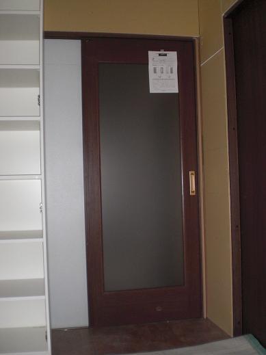 室内改装 ~ リビングもドア位置を移動して取り替え_d0165368_652821.jpg