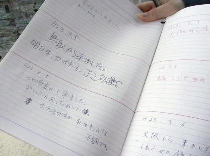 その時ロープウェイ山頂駅の落書き帳で見つけたのは...._b0194185_23192968.jpg