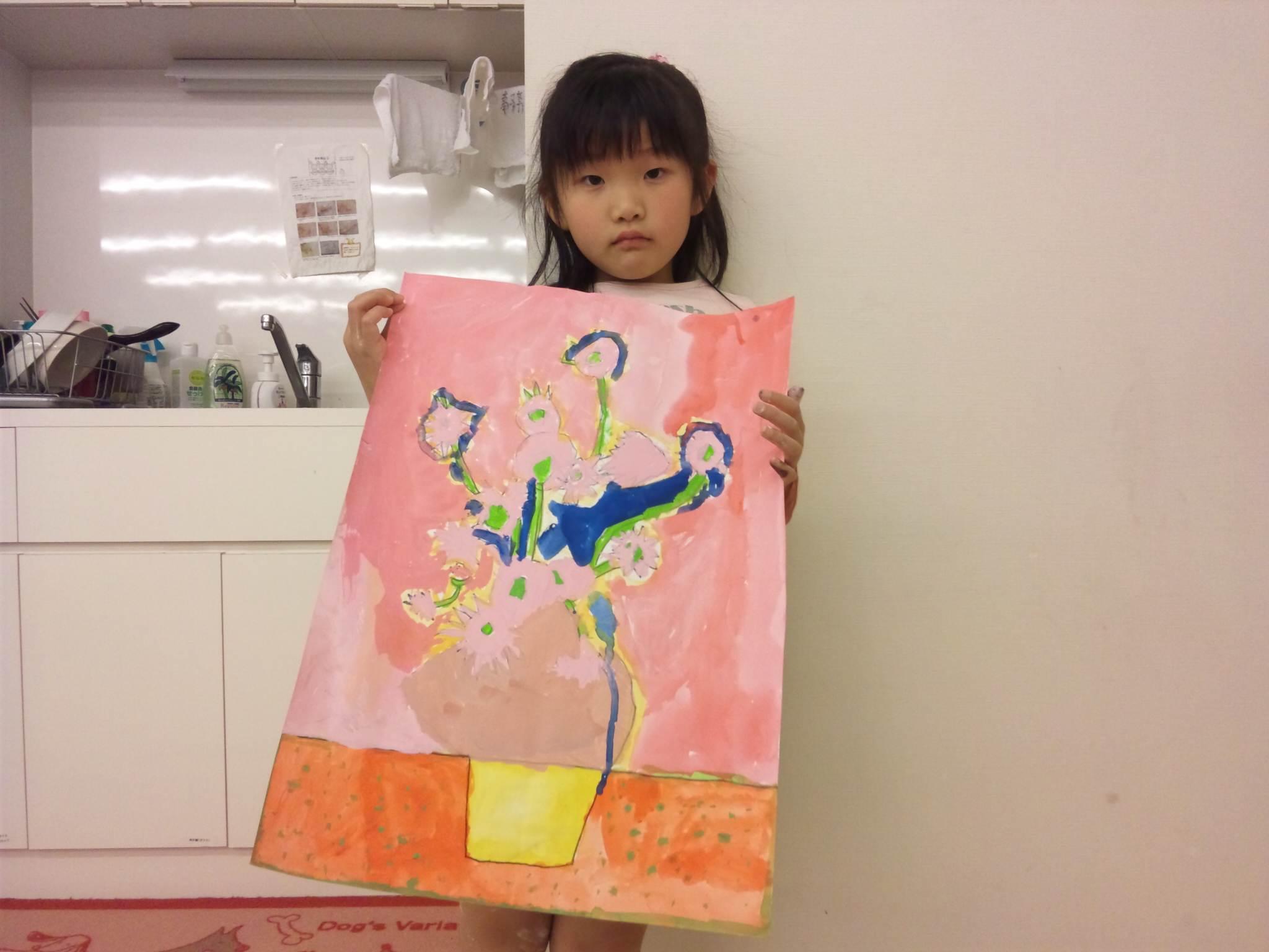 松井山手教室~前回の続き&創造画「木」~_f0215199_1563214.jpg