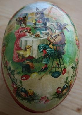 復活祭の卵とウサギ_b0189215_1749672.jpg
