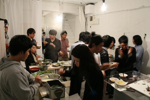 2011.4.23 そば打ちparty by HIGASHIIZUMI ICHIRO 1_a0184716_4561199.jpg