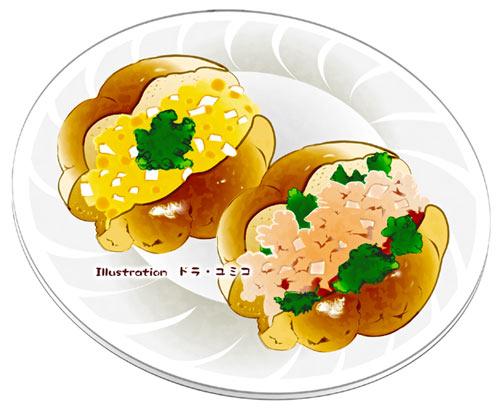 99000打記念イラスト ドラユミコのイラスト料理店
