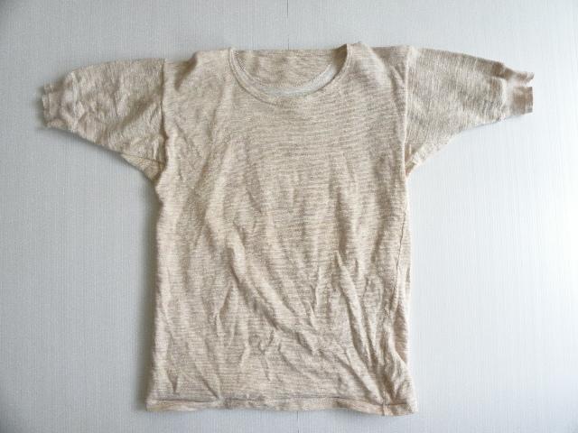 Greek army 50\'s wool T-shirts dead stock_f0226051_1113432.jpg