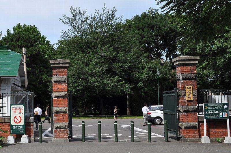 北海道大学 南門・門衛所_c0112559_13115469.jpg