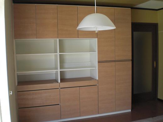 室内改装 ~ 木工事が終了です。_d0165368_5352690.jpg