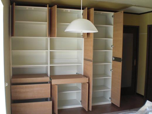 室内改装 ~ 木工事が終了です。_d0165368_5354413.jpg