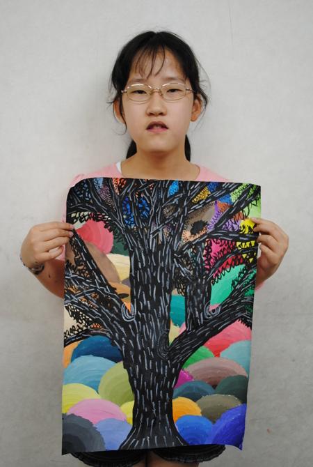 名画の模写・作品の仕上げ*長尾教室*_f0215199_2234423.jpg