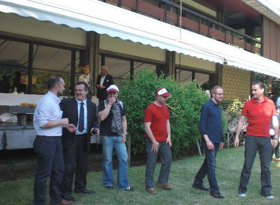 Pasqualissimaな週末 その2 イタリア大使館にて _d0041729_839154.jpg