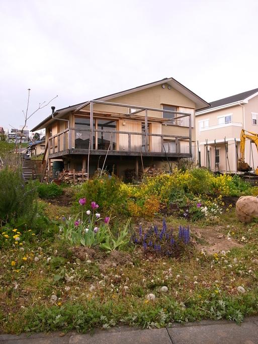 Nさんのいえ 植木の植替え 2011/4/26_a0039934_17482498.jpg