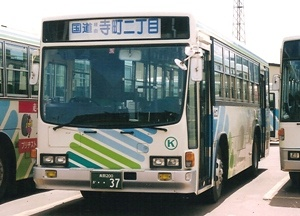 頸城自動車グループのキュービックバス_e0030537_1392418.jpg
