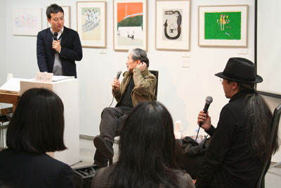 TIS#9トークショー:宇野亜喜良×山本タカト_f0171840_1539368.jpg