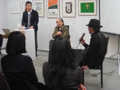 TIS#9トークショー:宇野亜喜良×山本タカト_f0171840_15413916.jpg