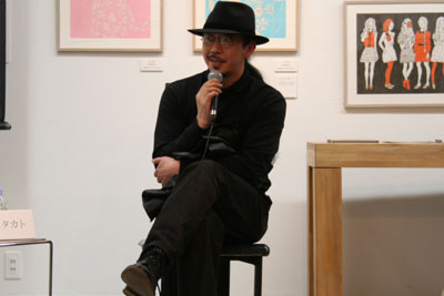 TIS#9トークショー:宇野亜喜良×山本タカト_f0171840_1541956.jpg