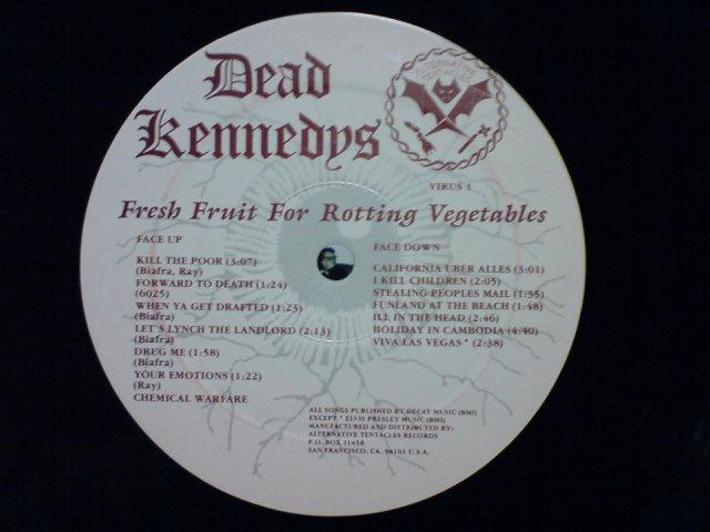 Fresh Fruit for Rotting Vegetables / Dead Kennedys_c0104445_2223145.jpg