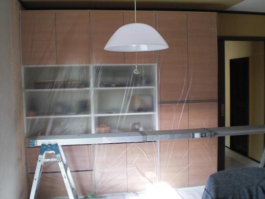 室内改装 ~ クロス工事です。_d0165368_5195373.jpg