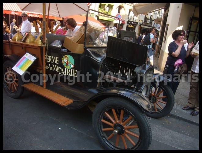 【アイスクリーム】街角のアイスクリーム(サンジェルマン界隈)PARIS_a0014299_1954649.jpg