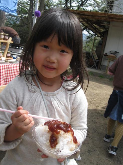 「完熟有機天然かき氷(苺)シロップ」作り~~_a0125419_182359.jpg
