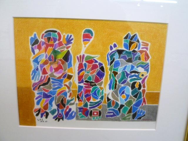 1514) 「佐藤萬寿夫 ドローイング展Ⅲ」 時計台 4月25日(月)~4月30日(土)  _f0126829_0114390.jpg