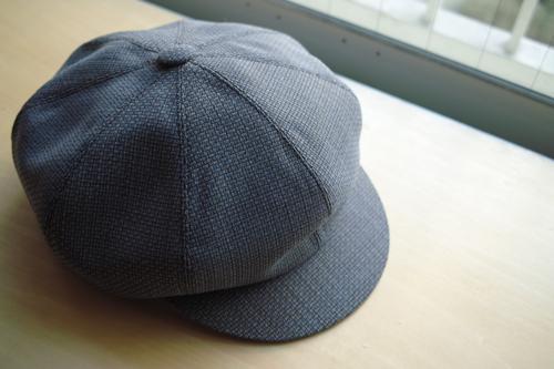 CHAPEAUX 2011s/s gris homme_b0129548_22475342.jpg