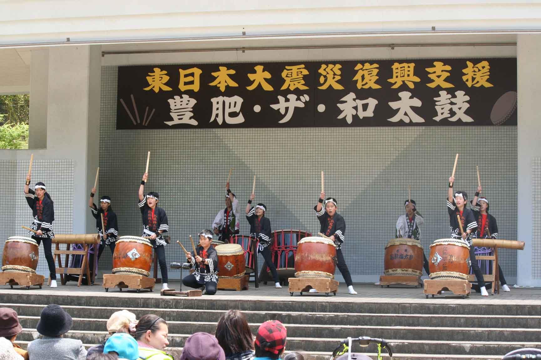 豊肥ザ和太鼓・チャリティー公演の巻_b0133254_223031.jpg
