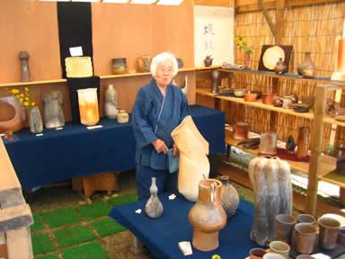 最高齢の女性陶芸家_f0229883_23265853.jpg