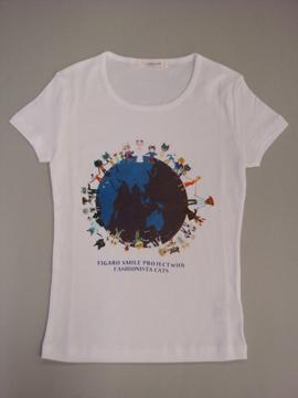 ファッショニスタ キャッツの日本支援チャリティTシャツ発売!_c0050387_171233.jpg