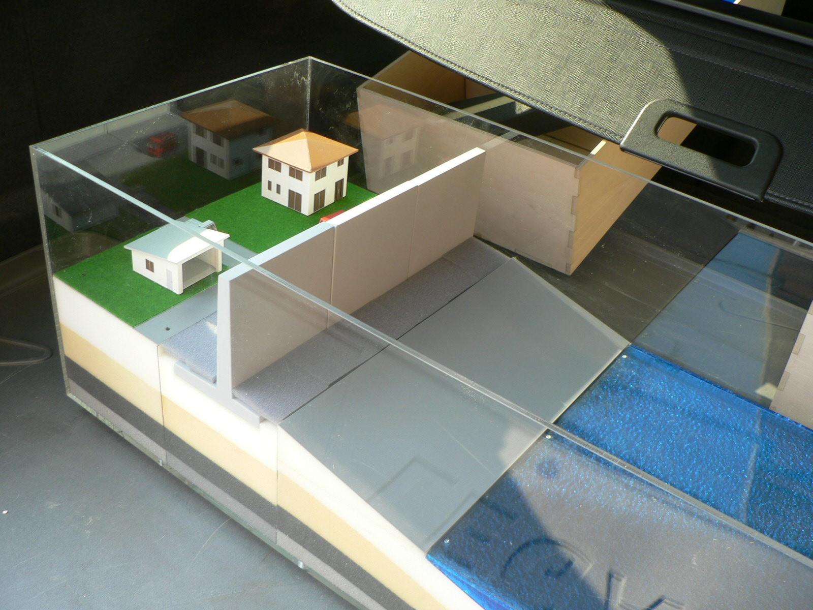 堤防模型の製作_e0146402_18505234.jpg
