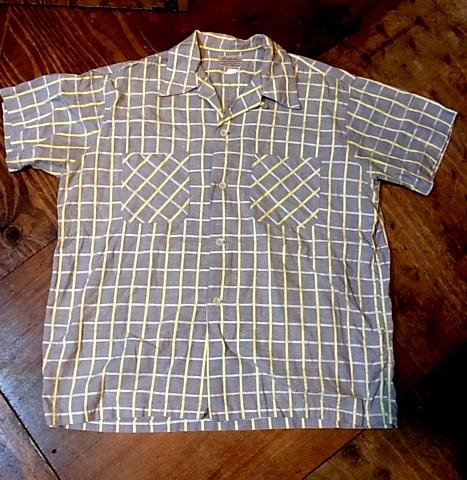 4/29(金)入荷商品!50'S オールコットンシャツ!_c0144020_13462018.jpg