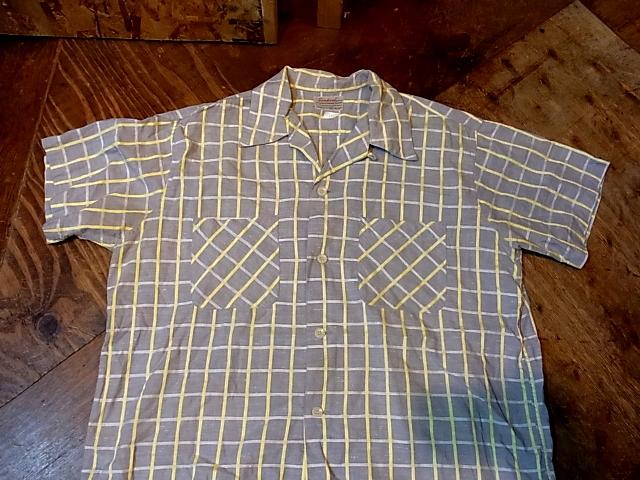 4/29(金)入荷商品!50'S オールコットンシャツ!_c0144020_1346228.jpg
