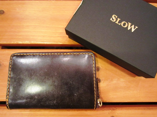 "SLOW ""deer\"" & \""bridle\"" WALLET 入荷!_f0191324_1013581.jpg"