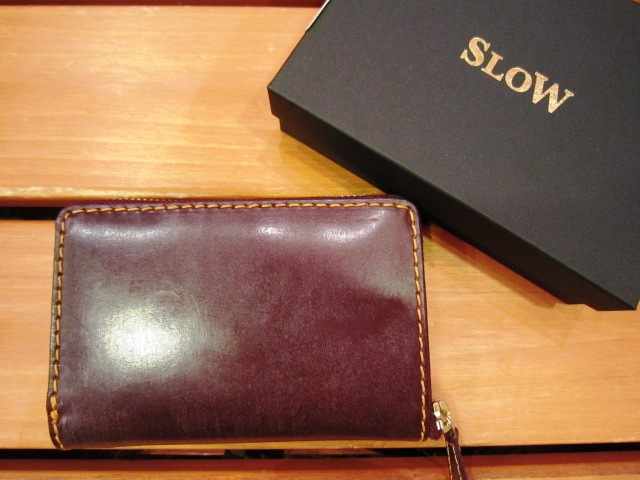 "SLOW ""deer\"" & \""bridle\"" WALLET 入荷!_f0191324_1014535.jpg"