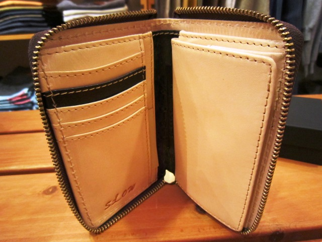 "SLOW ""deer\"" & \""bridle\"" WALLET 入荷!_f0191324_1042692.jpg"