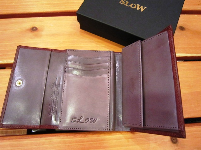 "SLOW ""deer\"" & \""bridle\"" WALLET 入荷!_f0191324_959024.jpg"