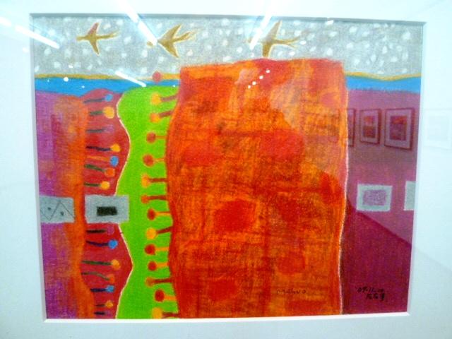 1514) 「佐藤萬寿夫 ドローイング展Ⅲ」 時計台 4月25日(月)~4月30日(土)  _f0126829_8241075.jpg
