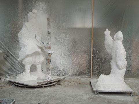 銅像制作の工程_b0145843_0164253.jpg