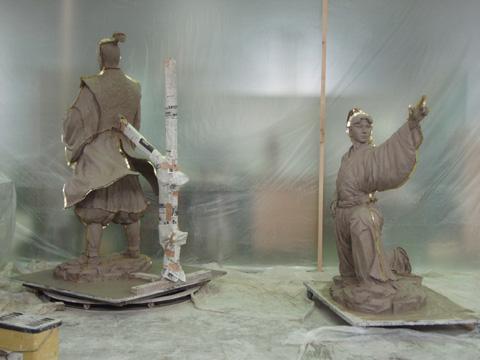 銅像制作の工程_b0145843_0931100.jpg