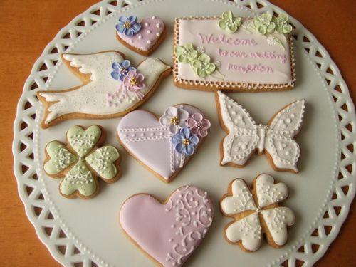 アイシングクッキー ~ウエディング~_e0160246_1816514.jpg