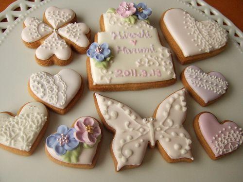 アイシングクッキー ~ウエディング~_e0160246_18172835.jpg