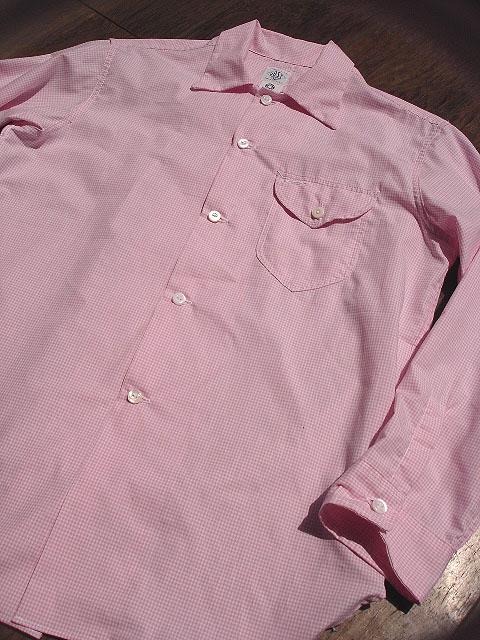 NEW : POST O\'ALLS [NEW Shirt-R ] Gingham SHIRTING !!_a0132147_22101234.jpg